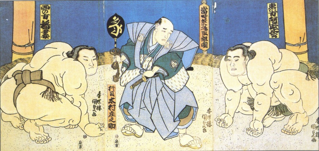 Sumo Geschichte - Kampf der Götter