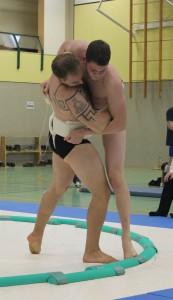 Sumo DEM 2015 - Sumogreifen Jan & Alex