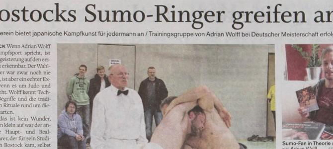Sumo-Artikel in der NNN