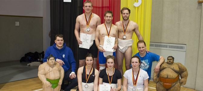 Sumogreifen erkämpfen 8 Medaillen bei DEM