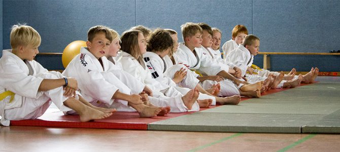 Judogreifen im Trainingslager in Malchow
