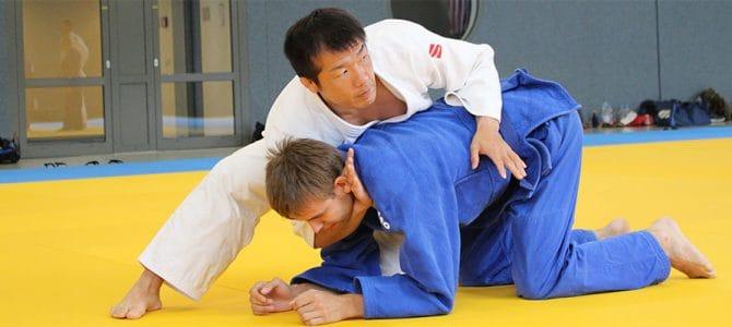 Koji Komuro bei der Sommerschule
