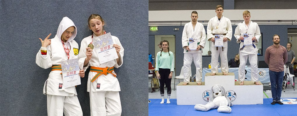 Judogreifen holen kompletten Medaillensatz bei Landesmeisterschaft