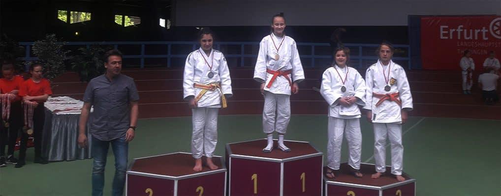 Judogreifen in Erfurt erfolgreich