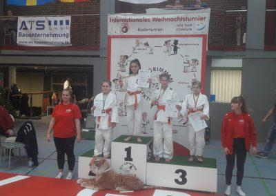 25. WT Grimmen Elli 2. Platz - Judo Rostock