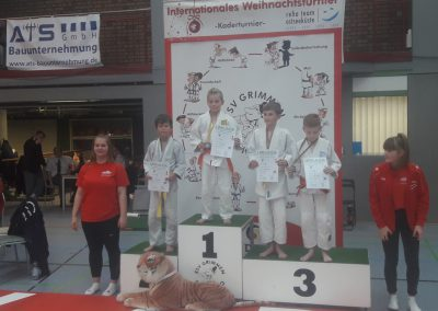 25. WT Grimmen Henrik 1. Platz - Judo Rostock