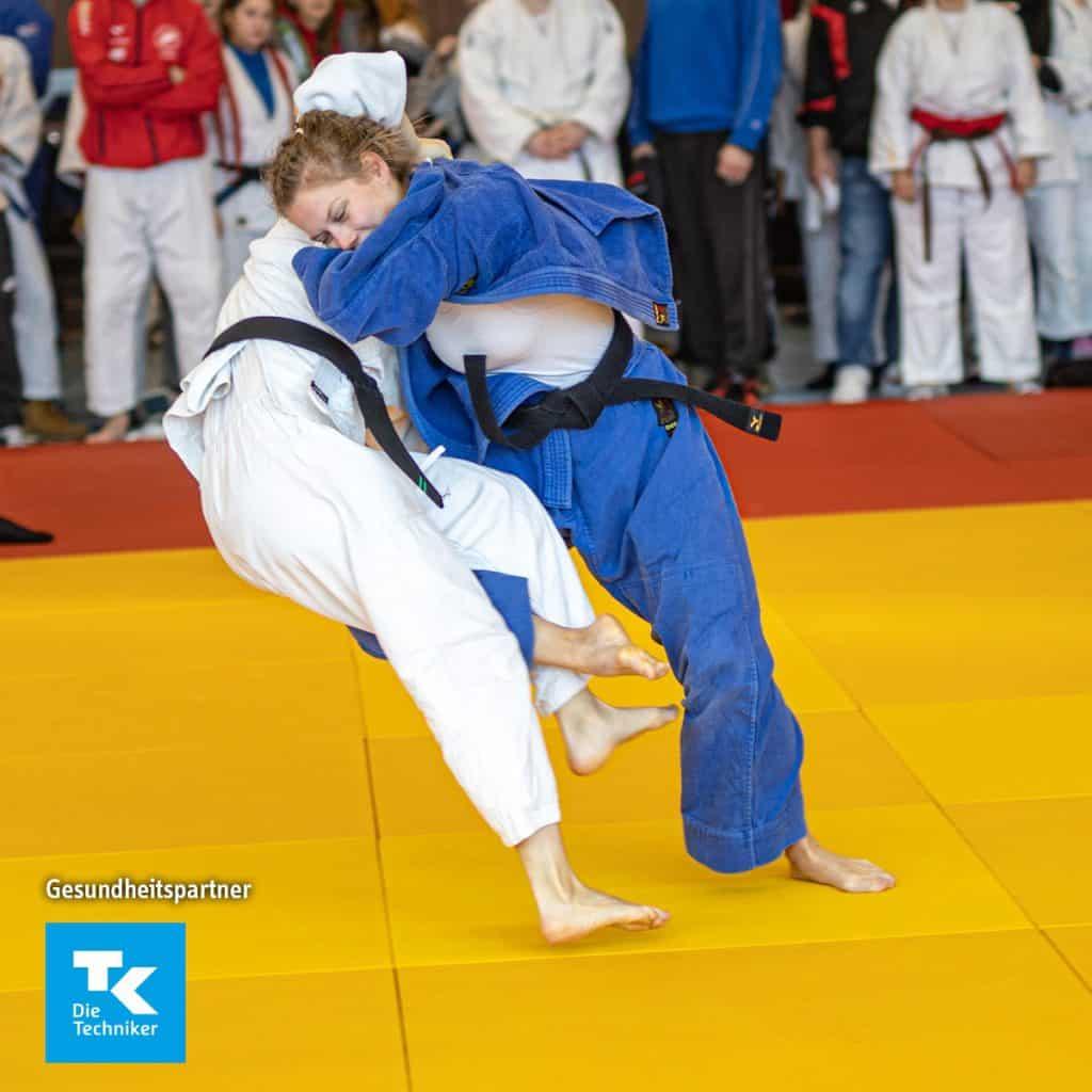 DHM Hannover Kathi holt 7. Platz - Judo Rostock